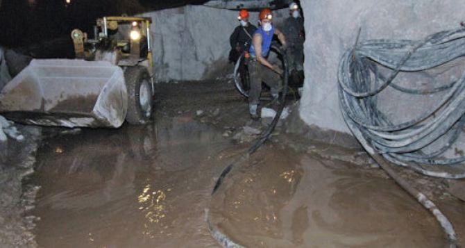 Кабмин выделил деньги на предотвращение затопления шахт на Луганщине