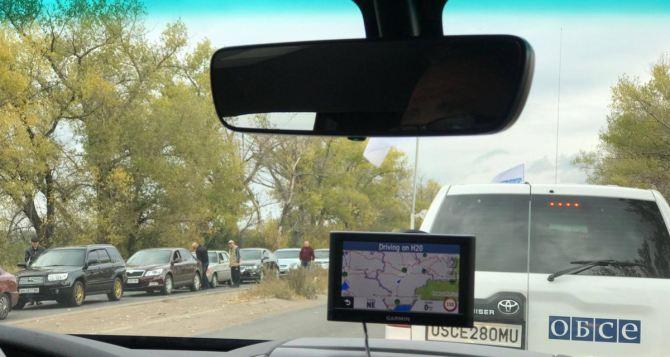 ОБСЕ попала под обстрел на КПВВ «Новотроицкое»