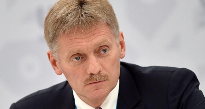 В Кремле отреагировали на принятый Радой законопроект по Донбассу