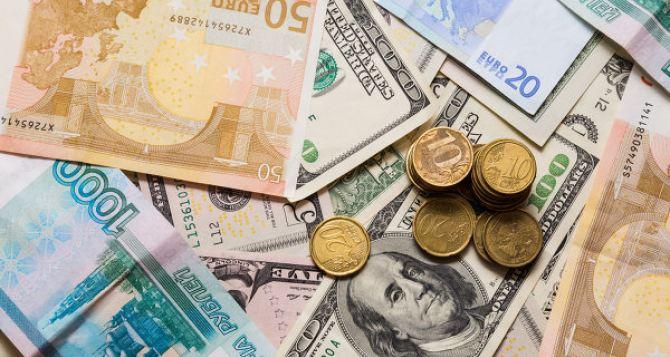 Курс валют в самопровозглашенной ЛНР на 10октября