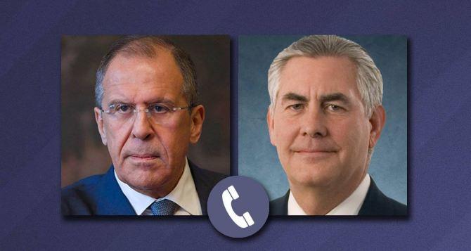 Лавров и Тиллерсон по телефону обсудили Донбасс