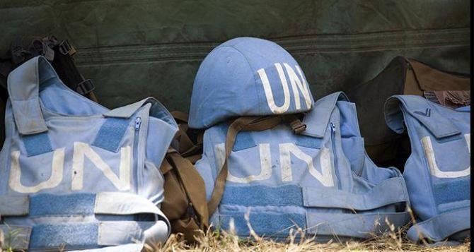 В России назвали неприемлемым подход Украины к миротворцам ООН для Донбасса