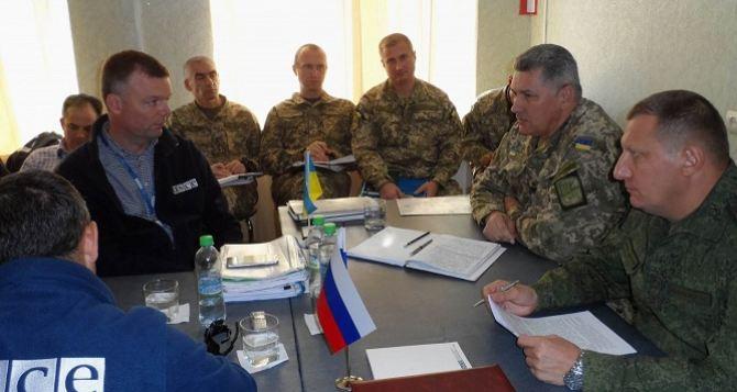 Хуг обсудил с украинской стороной разведение сил в районе Станицы Луганской