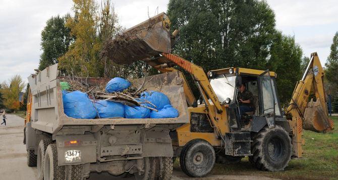 В Луганске проведут общегородской субботник