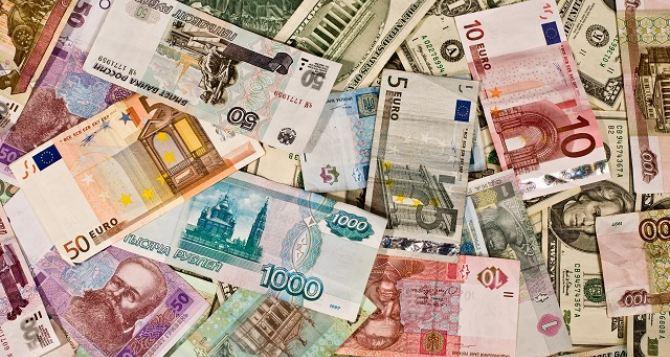 Курс валют в самопровозглашенной ЛНР на 19октября