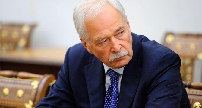 Грызлов назвал продление закона об особом статусе Донбасса полумерой