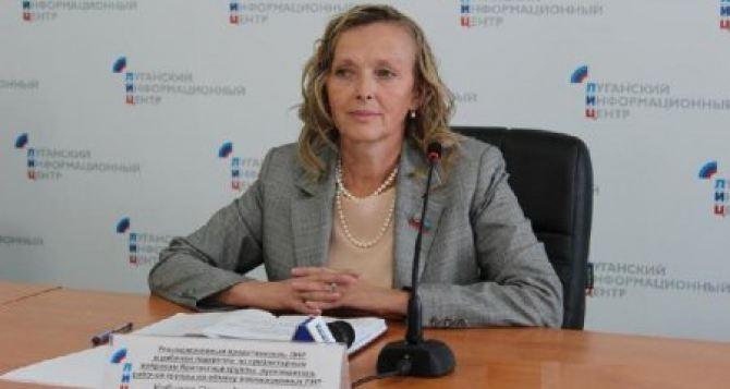 Кобцева рассказала об итогах заседания гуманитарной подгруппы в Минске