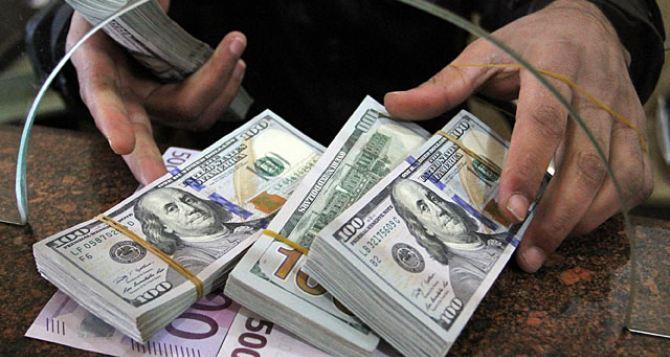 Курс валют в самопровозглашенной ЛНР на 30октября