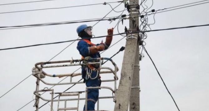 Энергетический коллапс в Луганской области: из-за непогоды без света уже более 24 тысяч абонентов