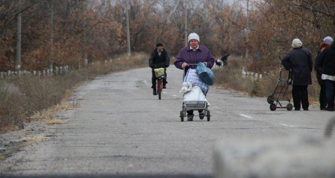 Пункт пропуска в Станице Луганской за сутки пересекли 6670 человек