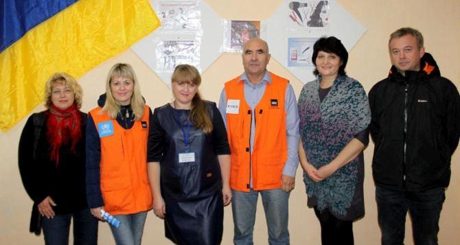 В Лисичанске открылся образовательный центр для переселенцев (фото)