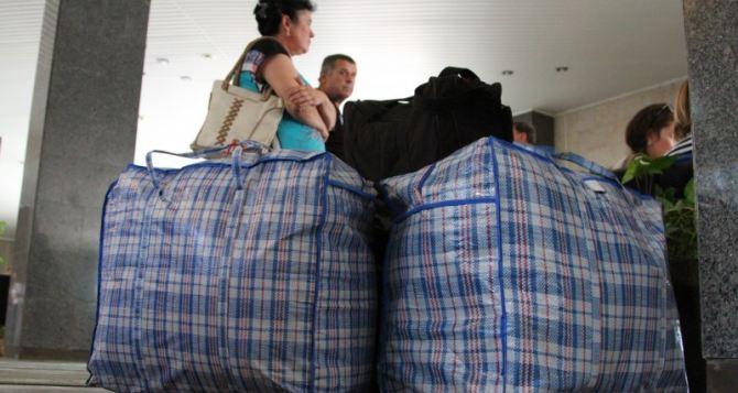 За неделю количество переселенцев в Украине уменьшилось на 17 тысяч