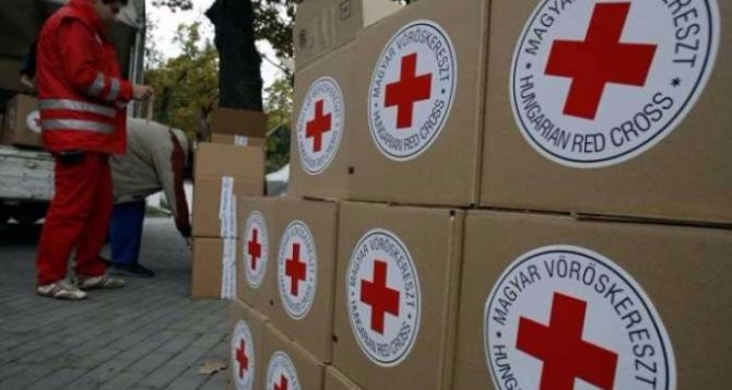 На Донбасс доставлена очередная гуманитарная помощь Красного Креста