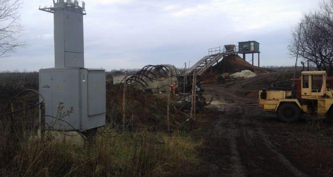 Возле Славяносербска обнаружена крупная копанка (фото)