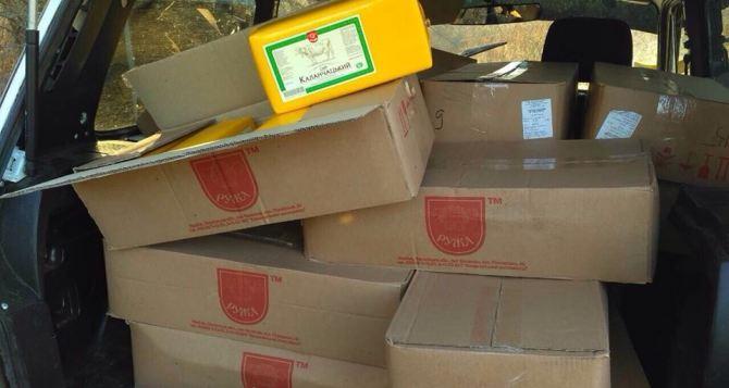 Возле незаконной переправы через Северский Донец снова задержали контрабандистку