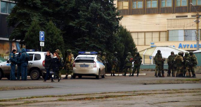 Ситуация в Луганске без особых изменений. Плотницкий не уезжал