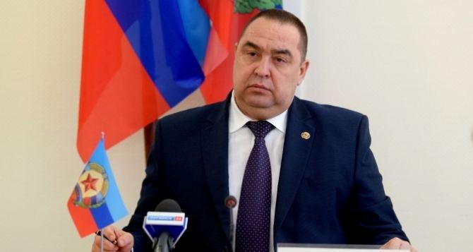 Глава Луганской Народной Республики Игорь Плотницкий провел рабочую встречу