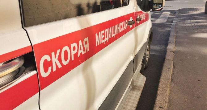 При взрыве гранаты вЛуганске пострадали три человека