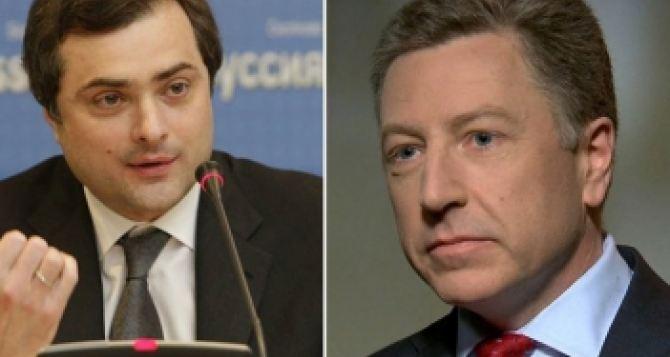Волкер и Сурков могут встретится на следующей неделе