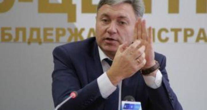 Луганский губернатор вместо реальной работы занимается прожектами