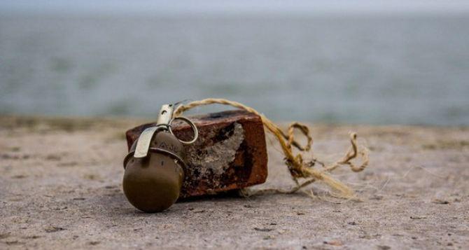 В Луганске опять нашли «безхозные» гранаты