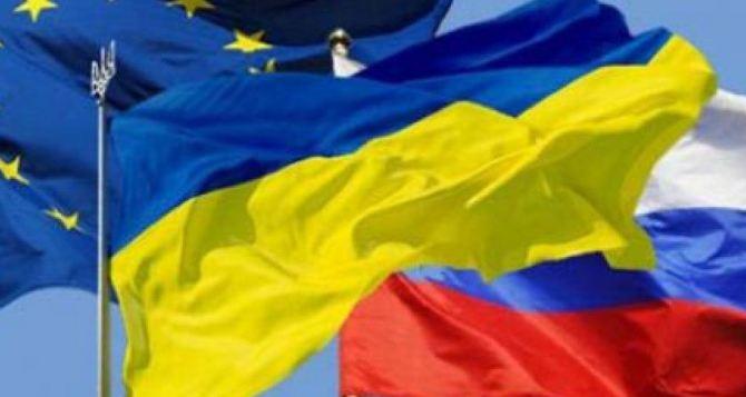 Торговля Украины сРоссией загод увеличилась больше, чем с европейским союзом