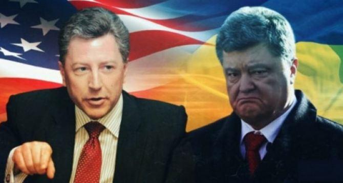 Волкер отменил поездку на Донбасс