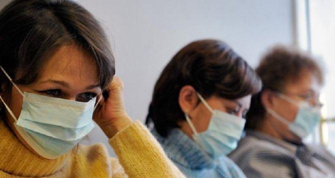 Почти 3 тысячи людей заболели ОРВИ в Луганской области за неделю
