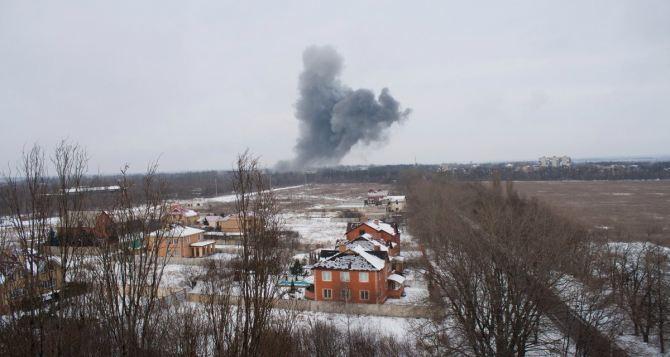 В Донецке два мощных взрыва— очевидцы