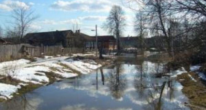 В Луганске рассказали правду об угрозе затопления города от весенних паводков