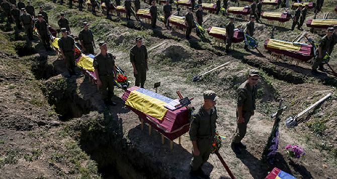 О погибших военных в АТО Украина отчиталась перед НАТО