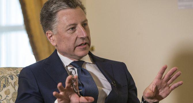Курт Волкер не исключает свой визит в Луганск и Донецк