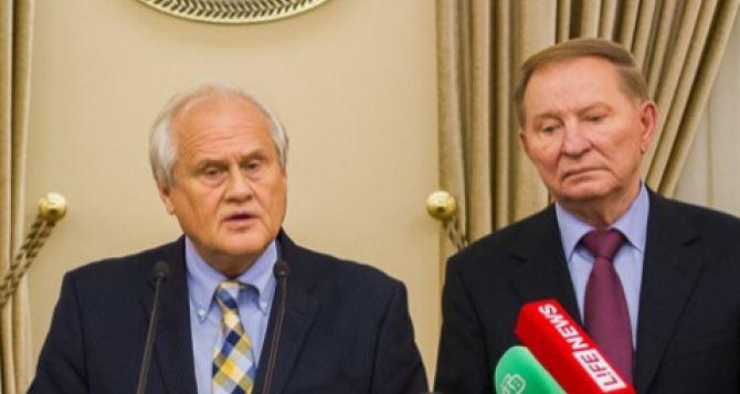 Кучма и Сайдик не будут принимать участия в заседании Контактной группы в Минске