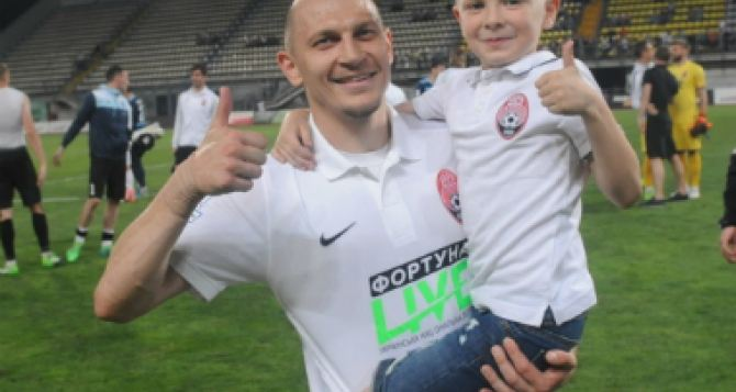 Никита Каменюка второй раз стал отцом