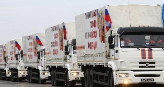 Гуманитарный конвой из России доставил в Луганск почти 145 тонн груза