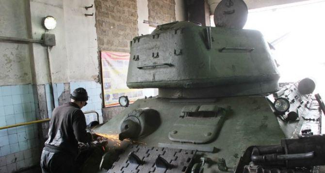 Легендарный луганский танк Т-34 все-таки примет участие в Параде Победы 9мая