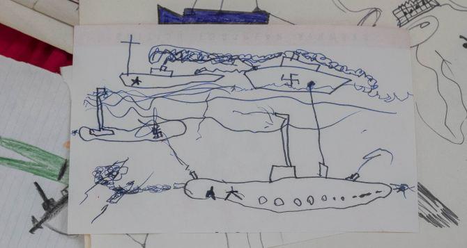 А тем временем во Львове проводят конкурс на лучший рисунок о дивизииСС Галичина