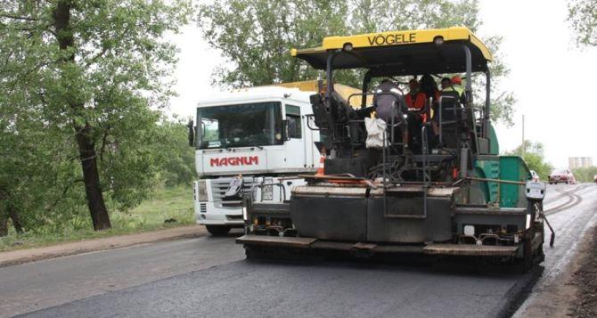 Какие дороги ремонтируют в Луганской области