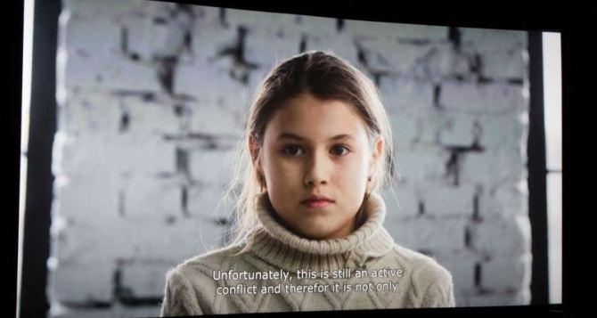 В Украине сняли документальный фильм о детях-переселенцах