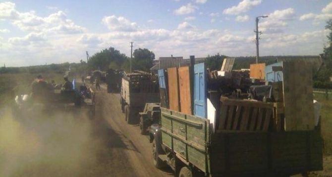 Жители Станицы Луганской подали более 20 заявлений в полицию о мародерстве и грабежах военнослужащими ВСУ,— представитель ЛНР