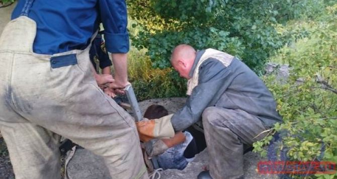16-летний подросток хотел спасти собаку и сам оказался в 5-метровом колодце. ФОТО