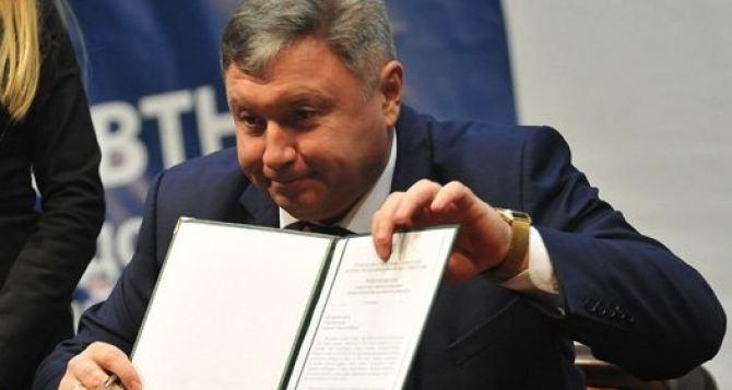 Гарбуз не возглавит предвыборный штаб Порошенко по Луганской области даже под угрозой увольнения