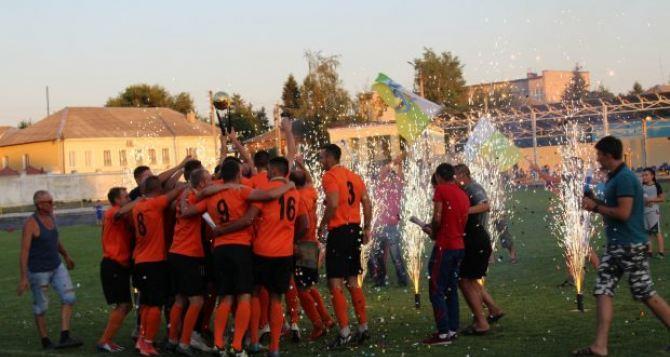 В упорной борьбе определился Чемпион Луганской области по футболу