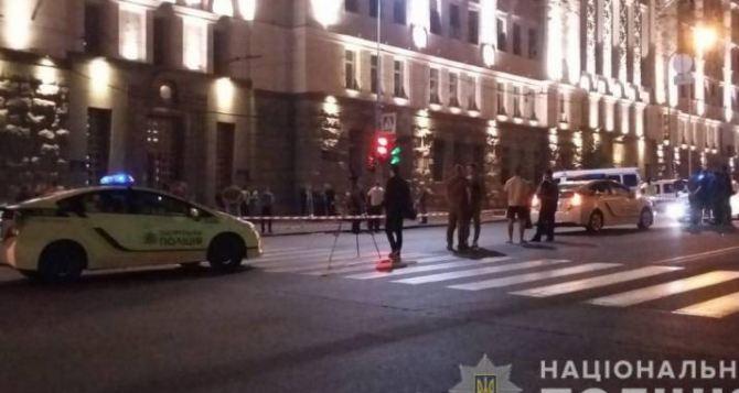 В центре Харькова стрельба: погиб полицейский, ранен охранник здания городской администрации