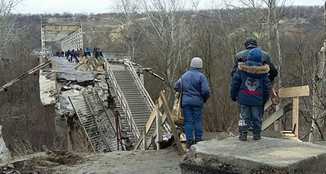 В Луганске заявляют, что на КПВВ «Станица Луганская» планируется провокация СБУ с подрывом пешеходного моста