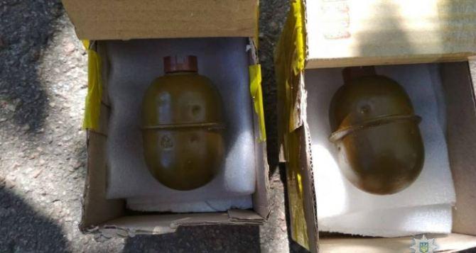 Набор «Луганщина» недорого: две гранаты РГД-5 в красивых коробочках