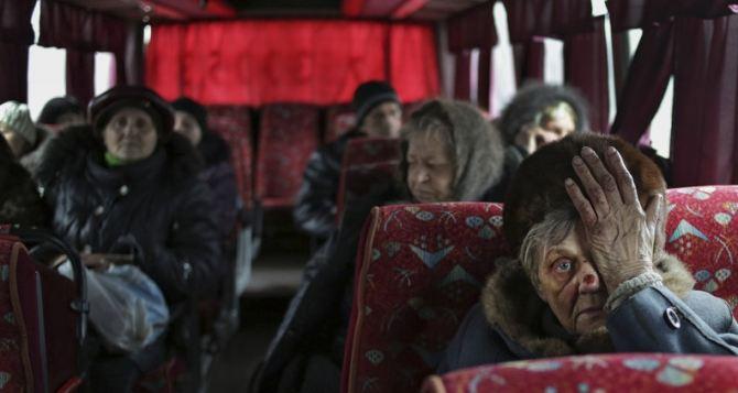 В Киеве не знают сколько пенсионеров проживает на неподконтрольном Донбассе.