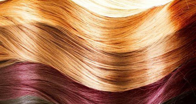 Как происходит окрашивание волос
