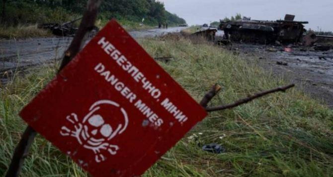Карта подрыва людей на минах в Донбассе с июня 2014 года. От мин пострадало более 1000 человек