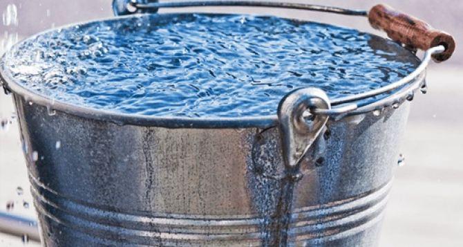 31Воктября без воды останутся десятки тысяч жителей Луганщины